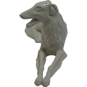 Vintage Royal Dux Bohemian Borzoi Dog