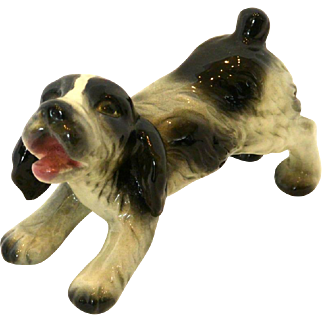 Goebel Springer Spaniel Puppy Figurine