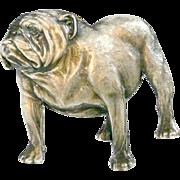 Vintage Kenart English Bulldog Pin