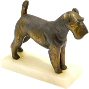 Vintage Fox Terrier Bookend