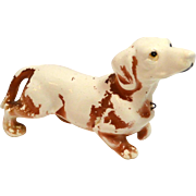 Vintage Ceramic Dachshund Dog Figurine