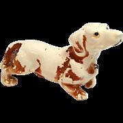 Vintage Ceramic Dachshund Dog Figurine