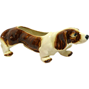 McCoy Bassett Hound Dog Planter c.1950's