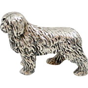 Vintage Silverplate Sheepdog