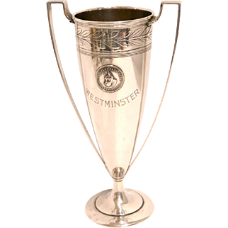 Westminster Kennel Club Sterling Silver Trophy for Great Dane Club by Tiffany c.1875-1891