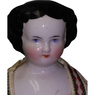 """101/2"""" Flat top China with Cloth Body"""