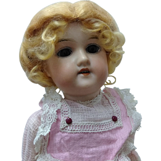 "Original 17"" German Dolly Face Floradora from 1890-1910 period"