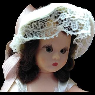Hard Plastic Nancy Ann Story Book June girl MIB