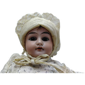 """16"""" """"Alma"""" German bisque doll 1890's-1910"""