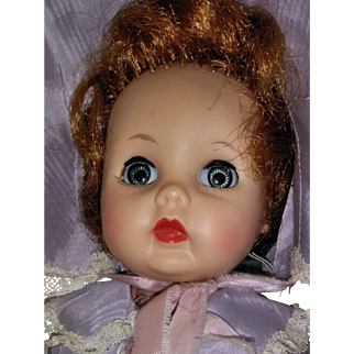 """101/2"""" R&B doll with vinyl head/rooted hair and plastic walking body from the 1950's"""
