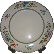 "Copeland Spode, Strathmere, circa 1915, Hand-Painted, ""Royal Jasmine"" Vintage Porcelain Dinner Plates, 7-Piece Set"