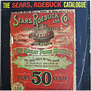 1902 Edition of Sears Roebuck Catalog, Vintage 1969 Reprint