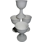 Set of 4 EGG CUPS, Bone China, Vintage, Made in England