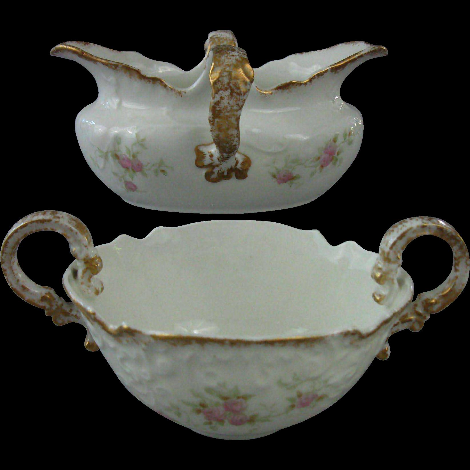 Circa 1884 Opco Syracuse China Cream Amp Sugar Set Pattern 50204 From Sweet Tea Southern