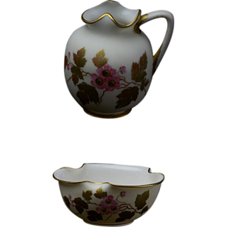 Early Ott & Brewer - Sugar / Creamer Set - in Perfect Condition