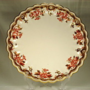 Copeland Spode Serving Bowl, Floral and Gilded, 1885