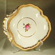 Derby English Porcelain Shell Form Dessert Dish 1790's