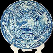 Quadrapeds Series Transfer Printed Plate, 1820's