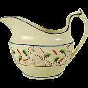 Rathbone English Porcelain Creamer, C 1810's