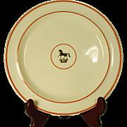 Creamware Armorial Plate C 1810