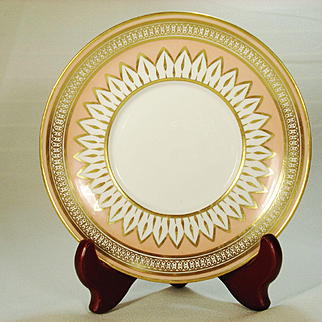 Derby Porcelain Small Dish, Red Mark,  C 1810