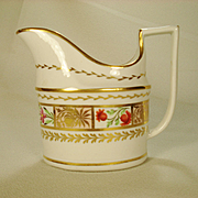Coalport English Porcelain Creamer, C 1805