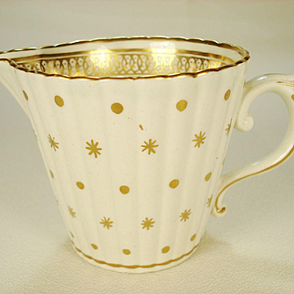 Caughley English Porcelain Creamer, 1780's