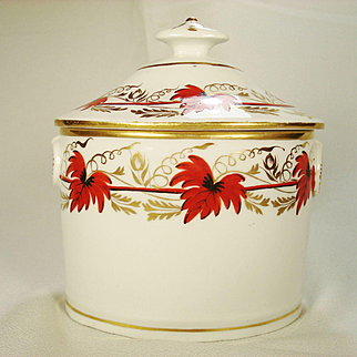 Coalport Sugar and Cover, C1810