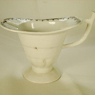 Chinese Export Porcelain Helmut Form Creamer, C 1800