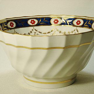 Keeling English Porcelain Waste Bowl, Godden Collection, 1795-1800