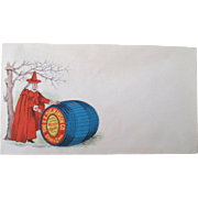 Vintage Advertising Dickinson's Witch Hazel illustrated envelope 1880's