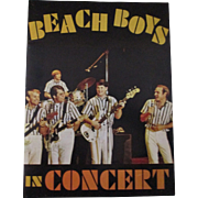 Beach Boys in Concert Souvenir program choice mint 1964