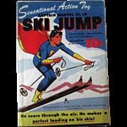 Captain Marvel Jr-Ski Jump -mint in original illustrated envelope-1944
