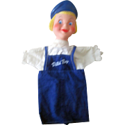 Dutch Boy Paint advertising hand puppet choice mint 1960's
