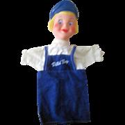 Dutch Boy Paint advertising hand puppet choice mint 1960's