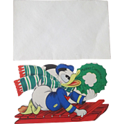 Disney's Donald Duck Christmas card unused mint condition copyright 1941