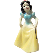 Disney's Snow White American Pottery figural bank near mint 1950's