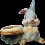 Disney's Thumper American Pottery figural mushroom planter near mint 1950's