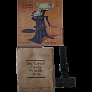 De Laval Cream Separator Company watch fob with original mailer and postcard