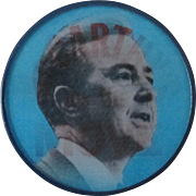 """McCarthy On The Move For President campaign 2"""" flicker pin"""