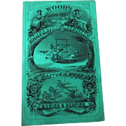 Walter Wood Mowing & Reaping Machines 1871 catalog excellent -near mint condition
