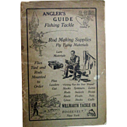 Fishing Angler's Guide Willmarth Tackle Co catalog early 1900's