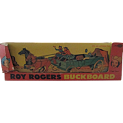 Roy Rogers Buckboard with box Ideal Toys 1950s