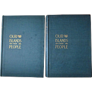 Our Islands and Their People as Seen with Camera and Pencil 2 volume set 1899