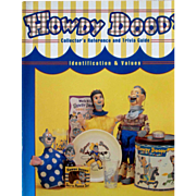 Howdy Doody Collector's Reference book near mint