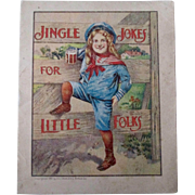 Early Hires Root Beer Jingle Jokes for Little Folks advertising booklet 1901