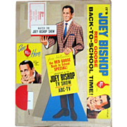 Red Goose Shoes Joey Bishop complete store display mint unused with box 1960's