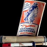 "The Lone Ranger ""National Defenders Secret Portfolio""complete w/original mailer"
