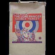 Lone Ranger Hi-Yo Silver Double Target tin set complete Marx Toys 1938