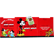 Disney's Mickey Mouse Bread Cards counter display near mint circa 1929-1938